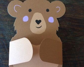 Bear Hug Card | I love you any occasion card