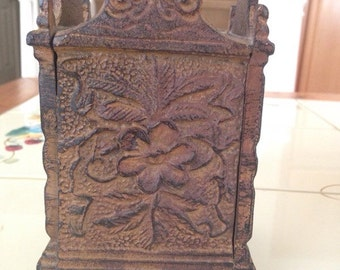 Vintage Cast Iron Money Bank