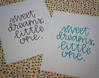 Sweet Dreams, Little One