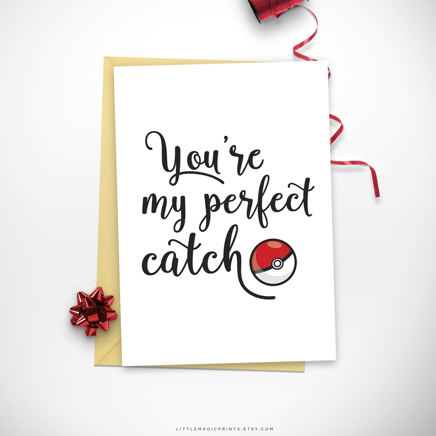 Printable Pokemon Go Love Card Printable Pokemon Birthday
