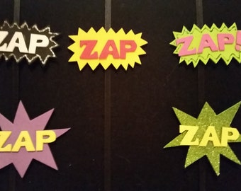 ZAP! action hair clips