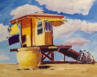 Hollywood Beach; lifeguard Stand