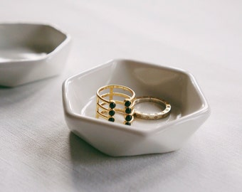 READY TO SHIP - Hexagon Ring Dish