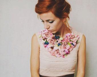 Collier floral XXL