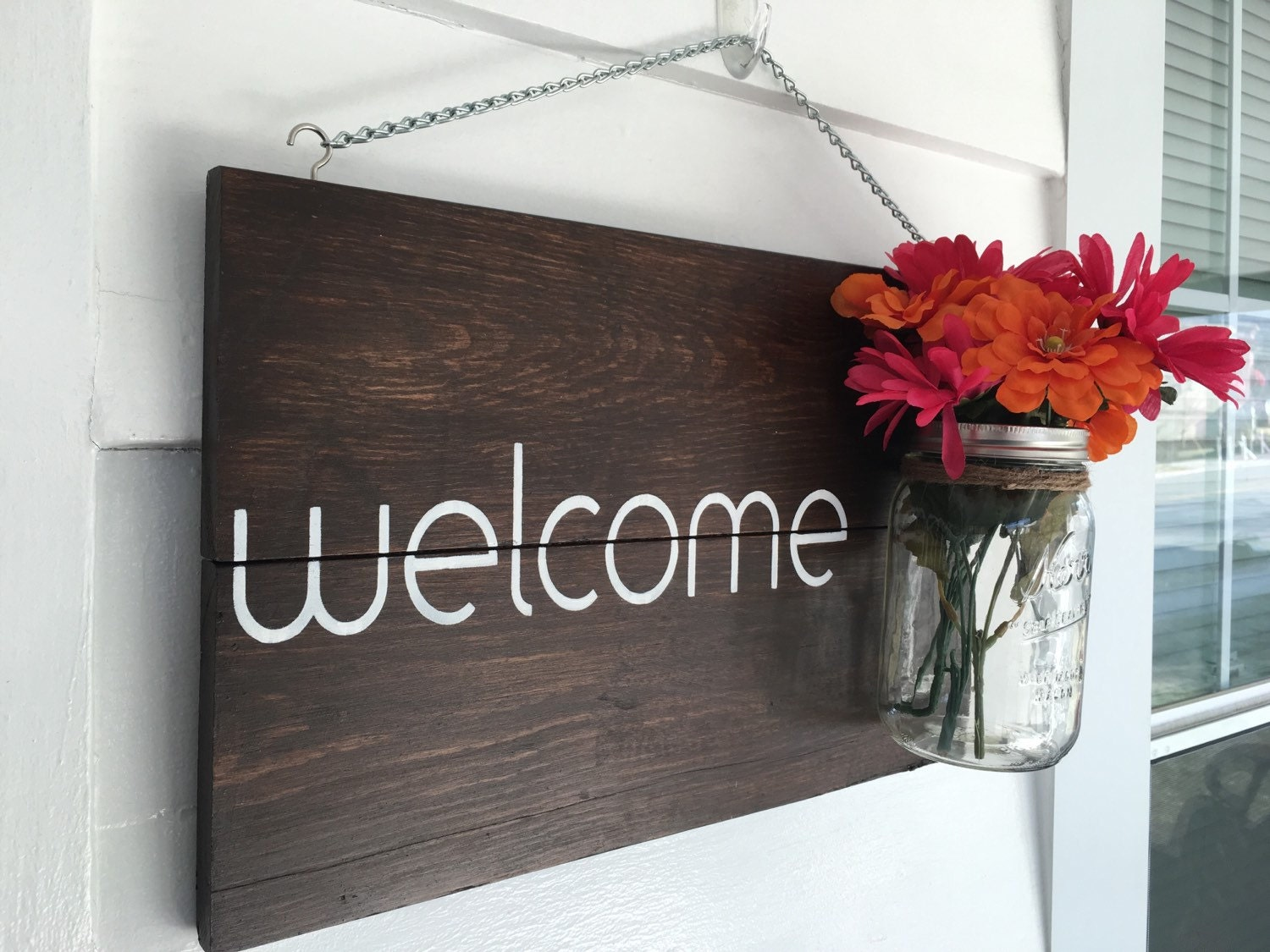 Rustic Outdoor Welcome Signoutdoor Decorfront Porch Welcome