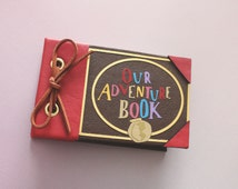 Our Adventure Book | Engagement Ring Box | Ring Bearer Box | Wedding Ring Box | Proposal