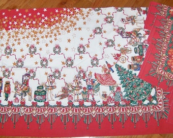 Holiday Tablecloth with Matching Napkins