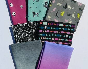 Goth And Ghostly Fat Quarter Bundle