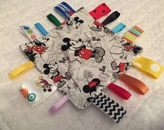 Mickey Mouse Baby Sensory Crinkle Toy
