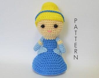Cinderella Crochet Pattern - Instant PDF Download
