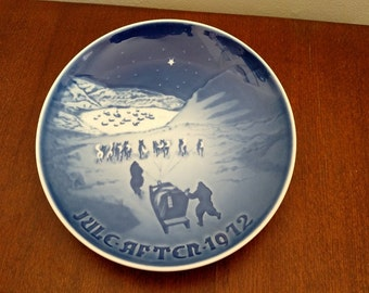 "Bing & Grondaul ""Christmas in Greenland"" Porcelain Plate"