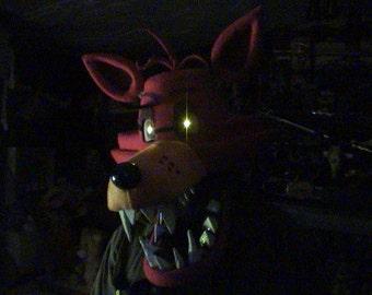 FOXY MASK - FNAF - full head mask - five nights at freddy's