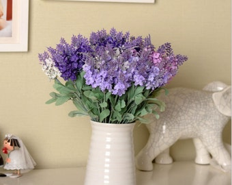 12 sets of nice French Provence lavender, lifelike and beautiful