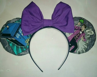 Doctor Who inspired Mickey ears