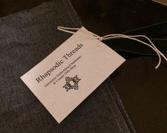 Rhapsodic Threads Brand: lightweight hand stitched vintage tote bag