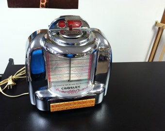 1988 Crosely CR9 Select-A-Matic Radio/Cassette Player Jukebox