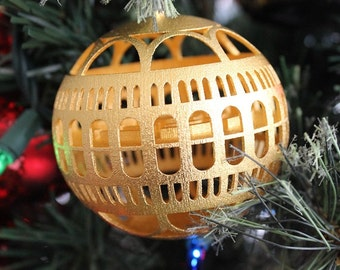 Library of Congress Ornament (Gold Plated)