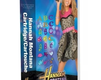 Cricut Disney's Popstar Hannah Montana Cartridge ...LOOK!!! SALE!! Limited time