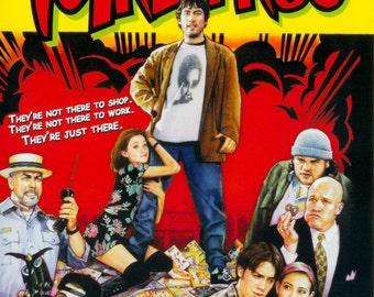 MALLRATS Movie Poster Kevin Smith Jay & Silent Bob Weed 420
