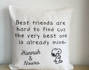 Snoopy friends Pillow
