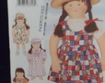 Little Sister Doll Clothes Sewing Pattern Butterick # 4425 Uncut