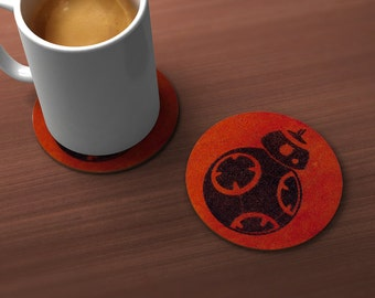 BB8 Robot Geek Drink Coaster