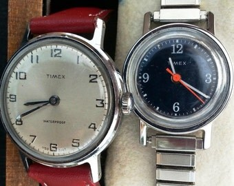 Timex Vintage Wrist Watch Bundle