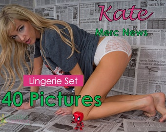 Kate - Merc News - (Mature) - 40 Pictures