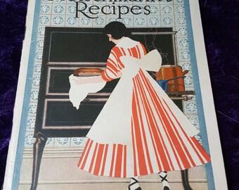 Vintage Fleischmann's Recipe Book from 1916