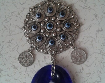 evil eye bead ornaments