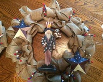 Uncle Sam Wreath