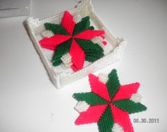 Holiday Star Coasters
