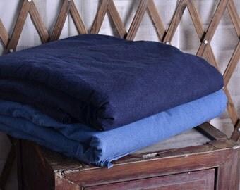 Traditional Hand Dyed Cloth, Indigo / Cobalt Blue