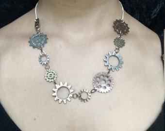 Gear Necklace