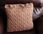 Knitting pillow covers