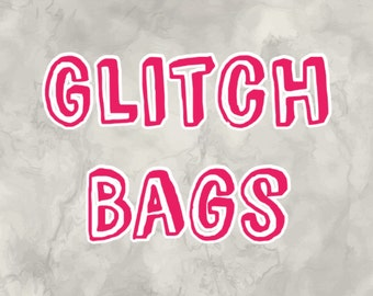Glitch Kits || misscut grab bags || missfit stickers