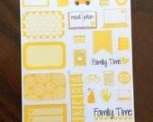 Shades of Yellow Sampler