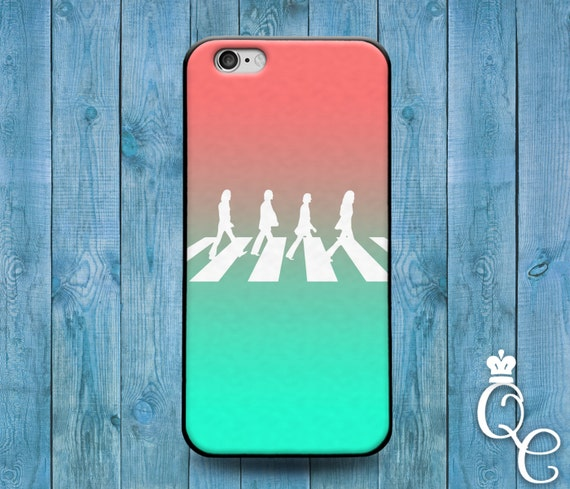 iPhone 4 4s 5 5s 5c SE 6 6s 7 plus iPod Touch 4th 5th 6th Gen Cool Ombre Mint Pink Cover Famous Rock Band Hippie Music Cute Phone Case