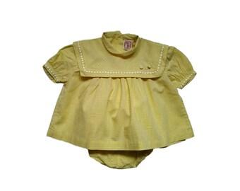 set 6-9 months baby vintage 50s