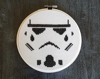 Star Wars Stormtrooper Cross Stitch