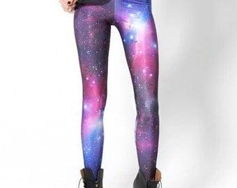 Galaxy leggings - S to XXXXL
