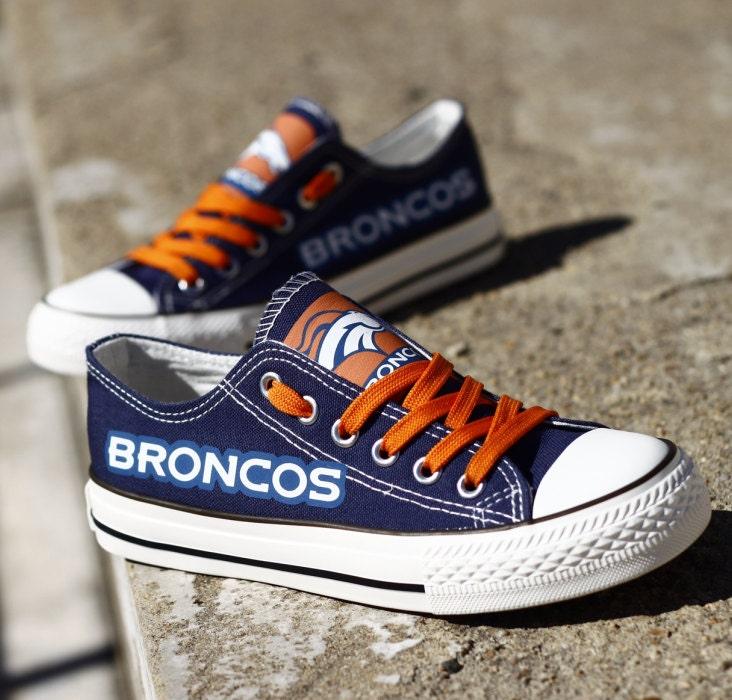 denver broncos tennis shoes fashion womens canvas by