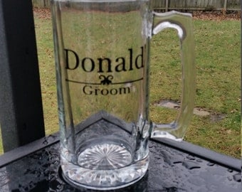 groomsmen beer mugs