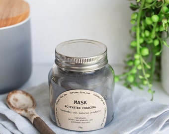 Face Mask - Activated Charcoal