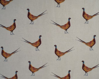 Mr Pheasant Country Curtain Craft Interior Fabric