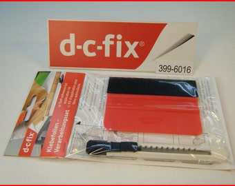 DC FIX Application Kit Tool Vinyl Squeegee and Knife Self Adhesive Wrapping Tool Craft Knife Vinyl Tool