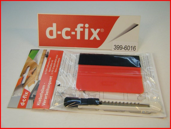 DC FIX Application Kit Tool Vinyl Squeegee and Knife Self