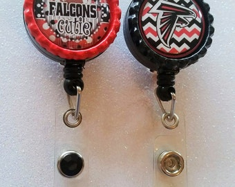 Falcons ID Badge, Falcons Badge, Atlanta Falcons ID Badge, Atlanta Falcons Badge, Atlanta Falcons, Falcons