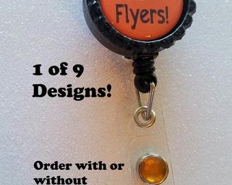 Flyers ID Badge, Flyers Badge, Philadelphia Flyers ID Badge, Philadelphia Flyers Badge, Philadelphia Flyers, Flyers