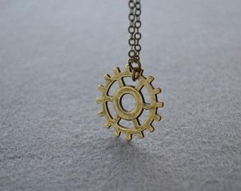 Commander Lexa Headpiece Antique Brass Necklace The 100